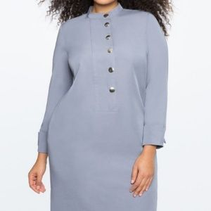 Eloquii Shirt Dress Women's Plus Size 20